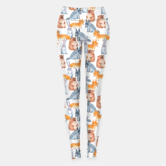 Miniatur Forest animals Leggings, Live Heroes