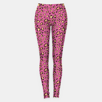 Luxury leopard Leggings miniature