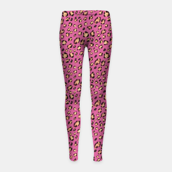 Luxury leopard Girl's leggings miniature