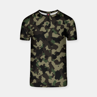 Thumbnail image of Classic Camouflage Pattern  T-Shirt, Live Heroes