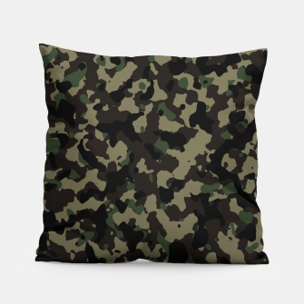 Miniatur Classic Camouflage Pattern  Kissen, Live Heroes