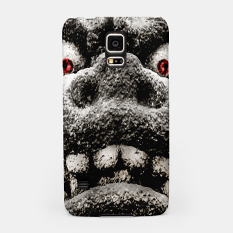 Thumbnail image of Monster Sculpture Extreme Close Up Illustration Samsung Case, Live Heroes