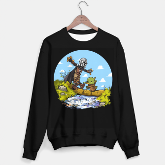 Thumbnail image of Kawaii Walking Sudadera regular, Live Heroes