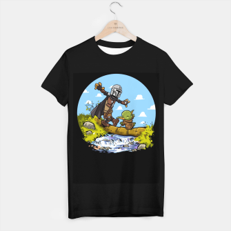 Miniatur Kawaii Walking Camiseta Regular, Live Heroes