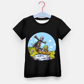 Thumbnail image of Kawaii Walking Camiseta para niños, Live Heroes
