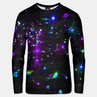 Miniatur Cool Galaxy Unisex sweater, Live Heroes