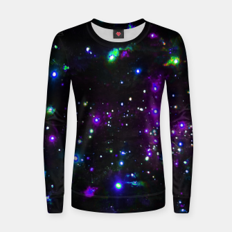 Thumbnail image of Cool Galaxy Women sweater, Live Heroes
