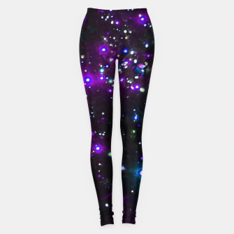 Cool Galaxy Leggings miniature