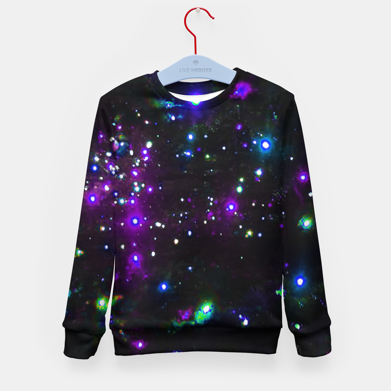 Image de Cool Galaxy Kid's sweater - Live Heroes