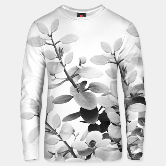 Thumbnail image of Eucalyptus Leaves Black & White Vibes #1 #foliage #decor #art Unisex sweatshirt, Live Heroes