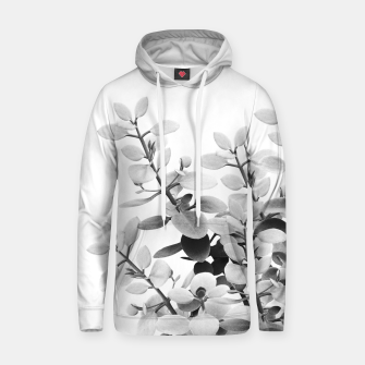 Thumbnail image of Eucalyptus Leaves Black & White Vibes #1 #foliage #decor #art Kapuzenpullover, Live Heroes