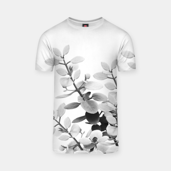 Thumbnail image of Eucalyptus Leaves Black & White Vibes #1 #foliage #decor #art T-Shirt, Live Heroes