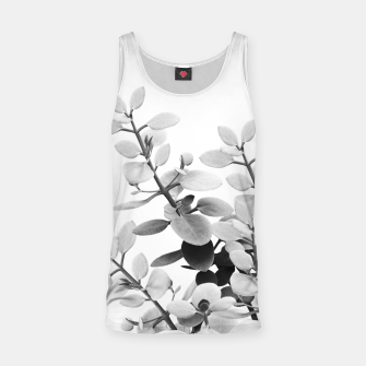 Thumbnail image of Eucalyptus Leaves Black & White Vibes #1 #foliage #decor #art Muskelshirt , Live Heroes