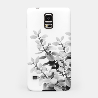 Thumbnail image of Eucalyptus Leaves Black & White Vibes #1 #foliage #decor #art Handyhülle für Samsung, Live Heroes