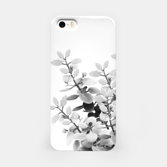 Thumbnail image of Eucalyptus Leaves Black & White Vibes #1 #foliage #decor #art iPhone-Hülle, Live Heroes
