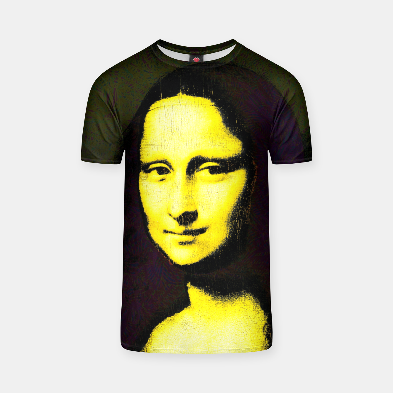 Image of mona lisa T-shirt - Live Heroes