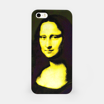 Thumbnail image of mona lisa iPhone Case, Live Heroes