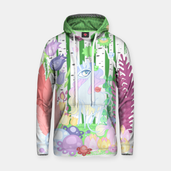 Thumbnail image of Unicorn Glade - visiting birds Hoodie, Live Heroes