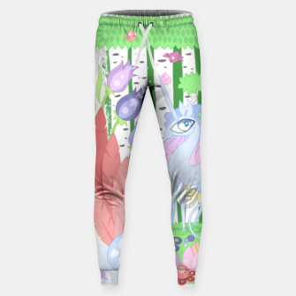 Thumbnail image of Unicorn Glade - visiting birds Sweatpants, Live Heroes