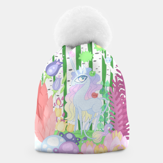 Thumbnail image of Unicorn Glade - visiting birds Beanie, Live Heroes