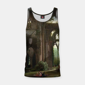 Miniatur Sketching the Ruins of Tintern Abbey by Samuel Colman Tank Top, Live Heroes