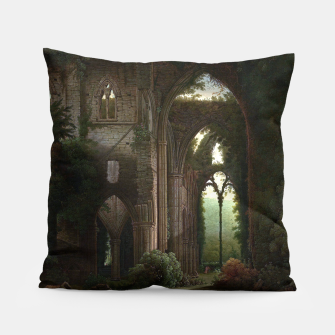 Miniatur Sketching the Ruins of Tintern Abbey by Samuel Colman Pillow, Live Heroes