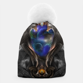 Thumbnail image of Seeing Past Oblivion TOLOB Fractal Art Composition Beanie, Live Heroes