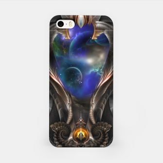 Thumbnail image of Seeing Past Oblivion TOLOB Fractal Art Composition iPhone Case, Live Heroes