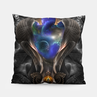 Thumbnail image of Seeing Past Oblivion TOLOB Fractal Art Composition Pillow, Live Heroes