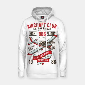 Miniatur Born to Fly - Aircraft Club Hoodie, Live Heroes