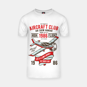 Miniatur Born to Fly - Aircraft Club T-shirt, Live Heroes
