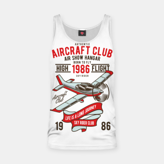 Miniatur Born to Fly - Aircraft Club Tank Top, Live Heroes