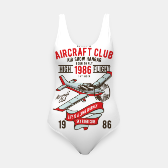 Miniatur Born to Fly - Aircraft Club Swimsuit, Live Heroes