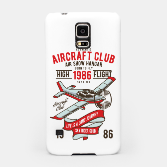 Miniatur Born to Fly - Aircraft Club Samsung Case, Live Heroes