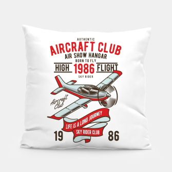 Miniatur Born to Fly - Aircraft Club Pillow, Live Heroes