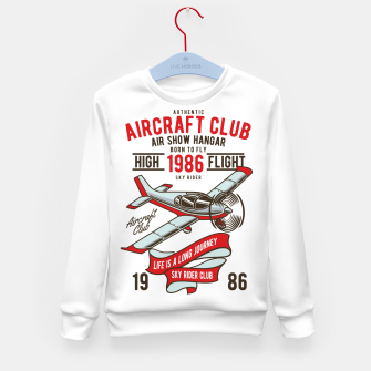 Miniatur Born to Fly - Aircraft Club Kid's sweater, Live Heroes