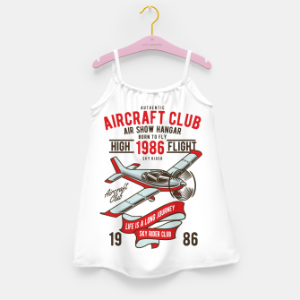 Miniatur Born to Fly - Aircraft Club Girl's dress, Live Heroes
