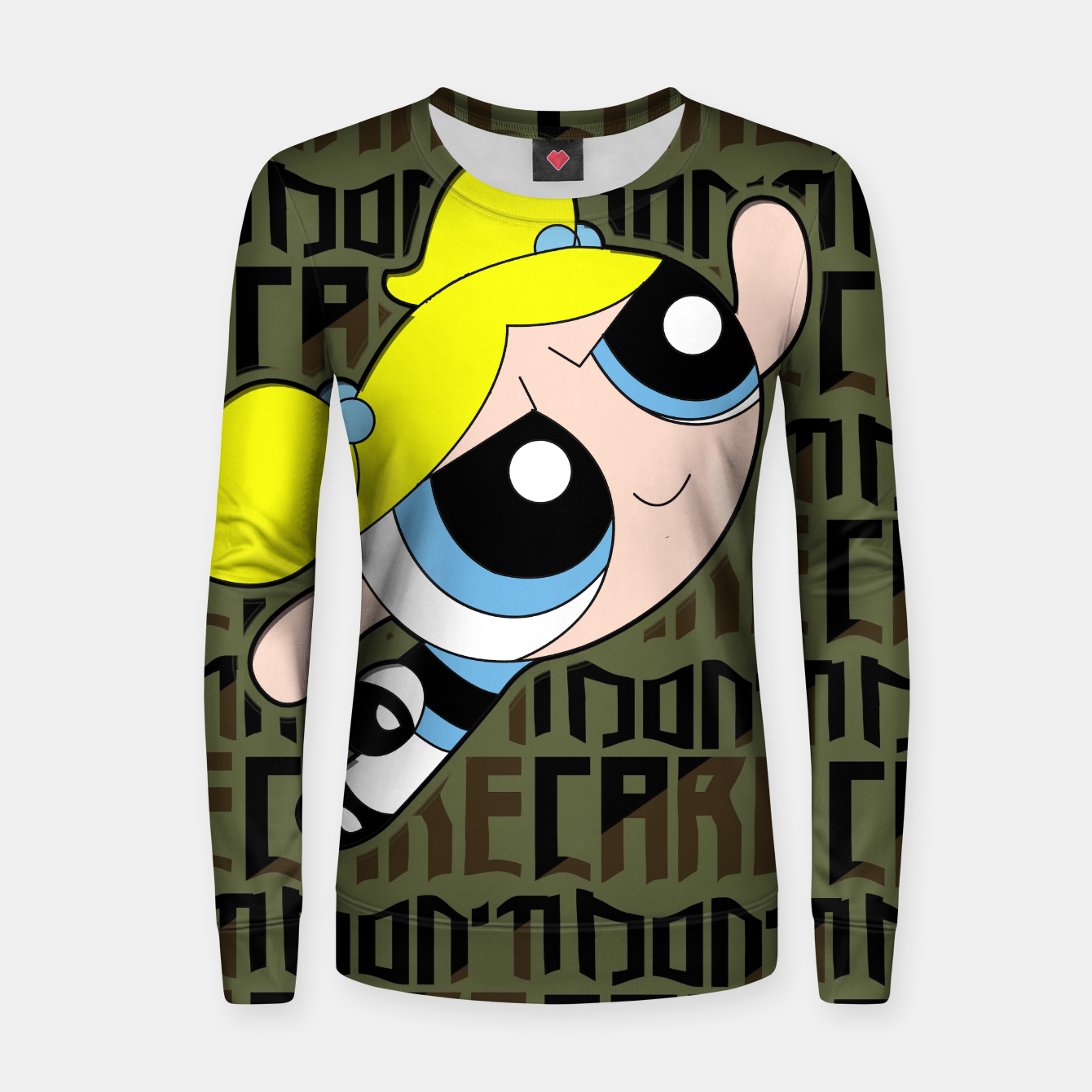 Image of IDC Bubble GIrl Sweater - Live Heroes