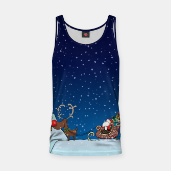 Thumbnail image of Up On The Housetop Tank Top, Live Heroes