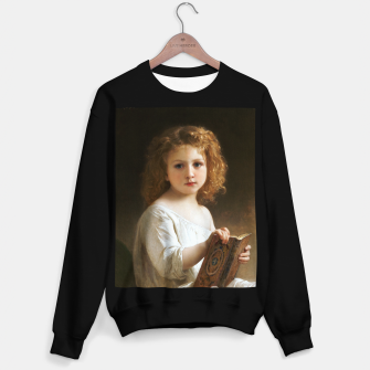 The Story Book by William-Adolphe Bouguereau Sweater regular thumbnail image