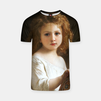 The Story Book by William-Adolphe Bouguereau T-shirt thumbnail image