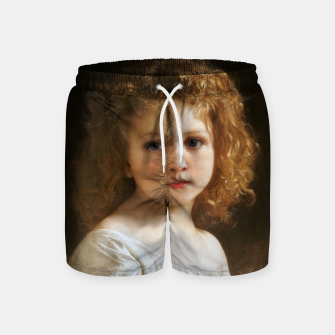 The Story Book by William-Adolphe Bouguereau Swim Shorts thumbnail image