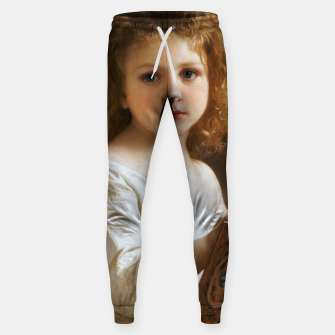 The Story Book by William-Adolphe Bouguereau Sweatpants thumbnail image