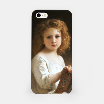 The Story Book by William-Adolphe Bouguereau iPhone Case thumbnail image