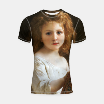 The Story Book by William-Adolphe Bouguereau Shortsleeve rashguard thumbnail image