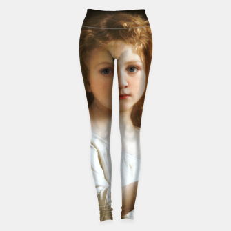 Thumbnail image of The Story Book by William-Adolphe Bouguereau Leggings, Live Heroes