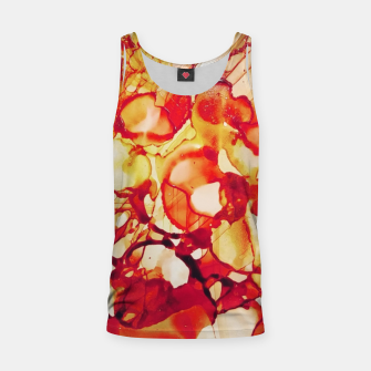 Thumbnail image of abstraction in sepia Tank Top, Live Heroes