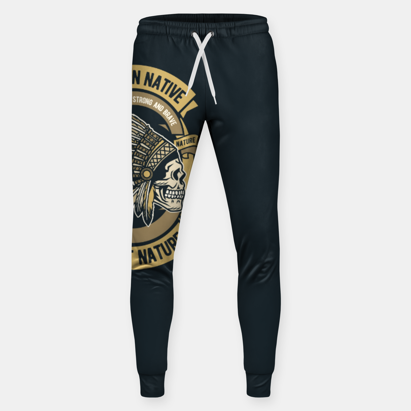 Image of AMERICAN NATIVE - Together we are Strong & Brave Sweatpants - Live Heroes