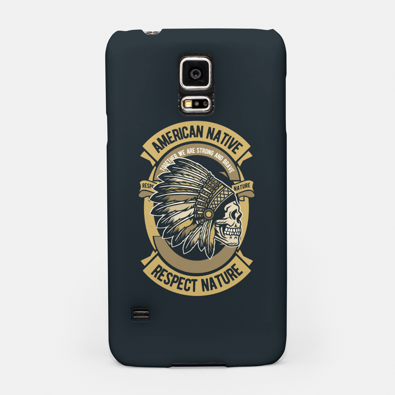 Image of AMERICAN NATIVE - Together we are Strong & Brave Samsung Case - Live Heroes