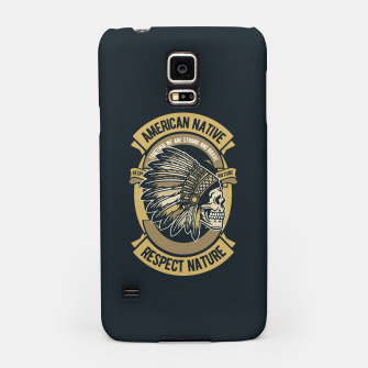 AMERICAN NATIVE - Together we are Strong & Brave Samsung Case thumbnail image